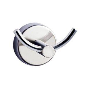Άγγιστρο Διπλό Χρωμέ Modern 2202