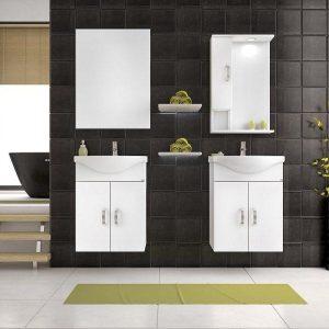 Έπιπλο μπάνιου ALBA 55 Λευκό