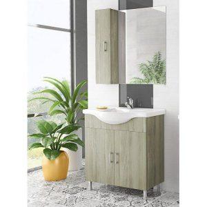 Έπιπλο μπάνιου ALBA 80 Elm Wood