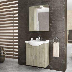 Έπιπλο μπάνιου ALBA 65 Elm Wood Κρεμαστό