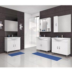 Έπιπλο μπάνιου ALBA 80 Λευκό