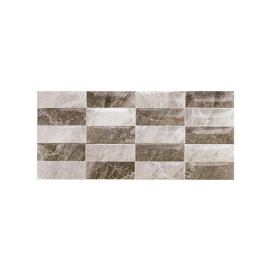 Πλακάκι Μπάνιου Alpes Gris Decor 25*50