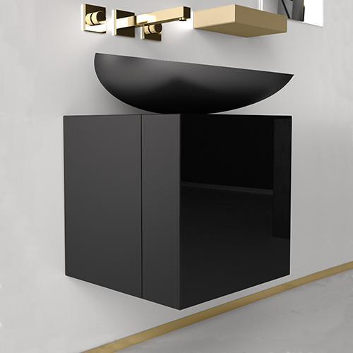 kool furniture. Bathroom Furniture CUBUS Black + KOOL Max Kool