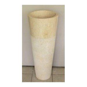 Επιδαπέδιος Νιπτήρας Conos Pedestal Beige