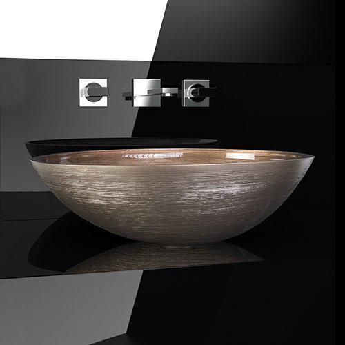 Νιπτήρας Μπάνιου Metropole Flou Glass Design