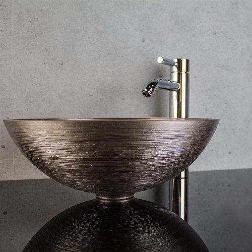 Glass Design Metropole Round 40 Modern Italian Countertop