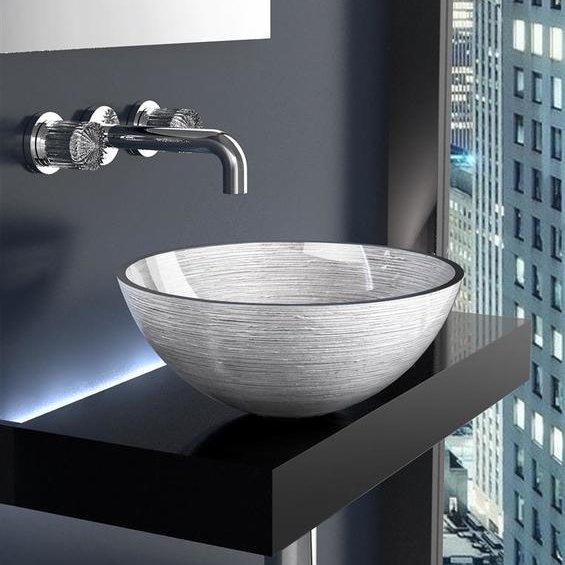 Countertop Wash Basin Metropole Round 40cm Flobali