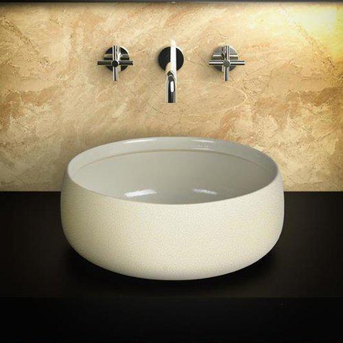 Νιπτήρας Μπάνιου Χειροποίητος Polo Στρογγυλός