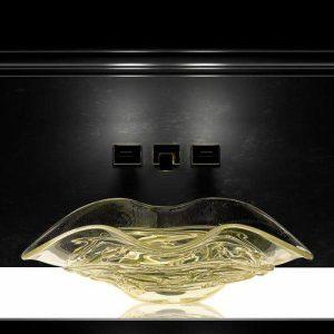 Arte Ιταλικός Μοντέρνος Οβάλ Επιτραπέζιος Νιπτήρας Μπάνιου 65χ42 cm