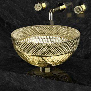 Νιπτήρας Μπάνιου Ramada Lux Στρογγυλός Επιτραπέζιος