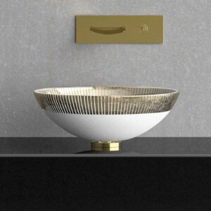 Countertop washbasin Round Filigrana 34