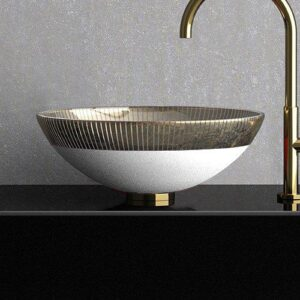 Countertop washbasin Round Filigrana 40