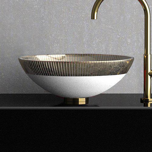 Countertop washbasin Round Filigrana 40