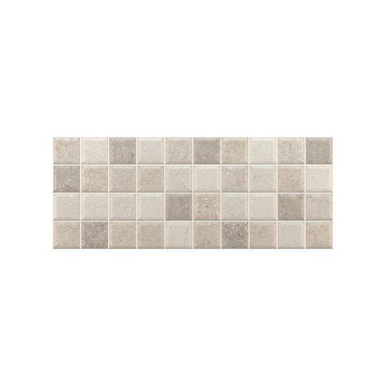 Πλακάκι Μπάνιου Concrete Grey Mosaico Decor 20*50