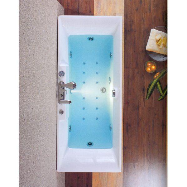 Acrilan Ίος Μοντέρνα Ευθύγραμμη Μπανιέρα 170χ70 & 180χ80 cm