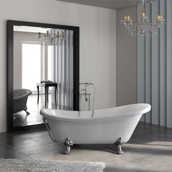 Acrilan Ithaki New Retro Freestanding Bathtub 170 80 Cm