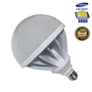 Λαμπτήρας LED E27 50Watt, 220V, 270°, Ψυχρό