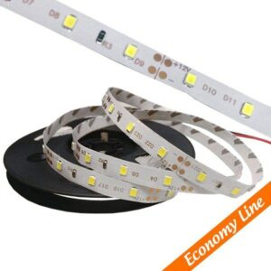 Ταινία LED Eco 4.8Watt, 12Volt, Θερμό-Ψυχρό