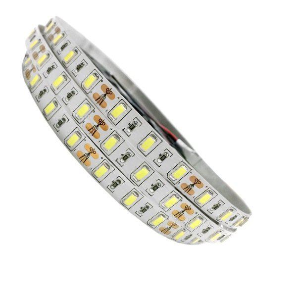 Ταινία LED 5 Μέτρα 20W/m 12Volt +2 Φωτεινότητες 60LED/m 5730SMD IP20 120°