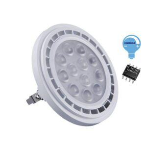 Λάμπα LED AR111 12 Watt, 230V, 36°, Dimmable