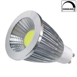LED Σποτ GU10 7 Watt, 230V, 35°, Θερμό-Ψυχρό, Dimmable