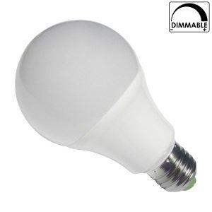 Λάμπα LED E27 8 Watt, 230V, 300°, Θερμό-Ψυχρό-Ημέρας, Dimmable