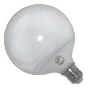 Λάμπα LED E27 G125 20 Watt, 230V, 260°, Θερμό-Ψυχρό-Ημέρας
