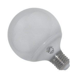 Λάμπα LED E27 G95 15 Watt, 230V, 260°, Θερμό-Ψυχρό-Ημέρας