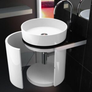 Bathroom furniture KOIN Medio+RHO wash basin
