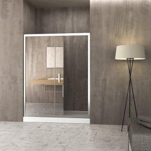 Orabella Energy Καμπίνα Μπάνιου Καθρέπτη Τοίχο-Τοίχο 180 Ύψος