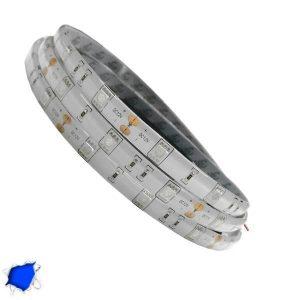 Αδιάβροχη LED Ταινία Μπλε 5 Μέτρα 7,2 Watt/m 12 Volt