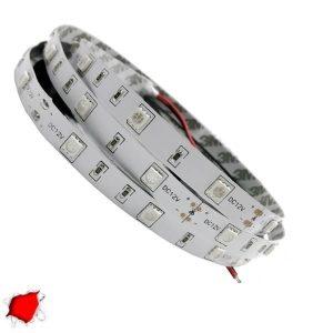 LED Ταινία Κόκκινη 5 Μέτρα 7,2 Watt/m 12 Volt