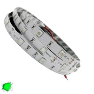 LED Ταινία Πράσινη 5 Μέτρα 7,2 Watt/m 12 Volt
