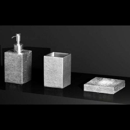 Set Bath Accessory Metropole Glass Design Flobali