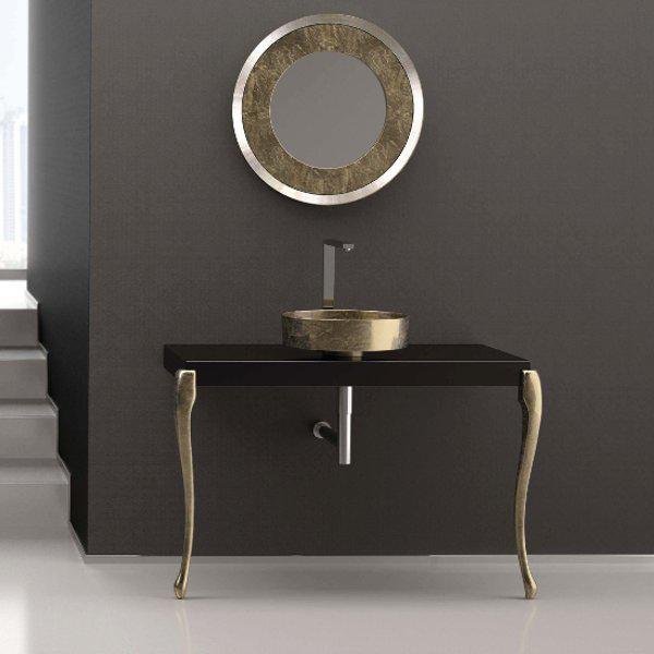 Bathroom furniture MUSA with Rho Lux basin