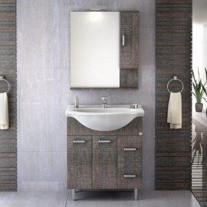 Έπιπλο μπάνιου Phaedra 80 Dark Grey