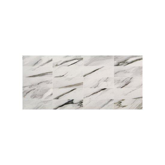 Πλακάκι Μπάνιου Calacata Relieve Decor 25*50