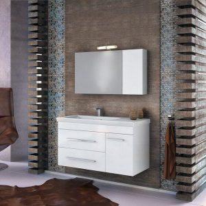 Έπιπλο μπάνιου Status 100 White Κρεμαστό