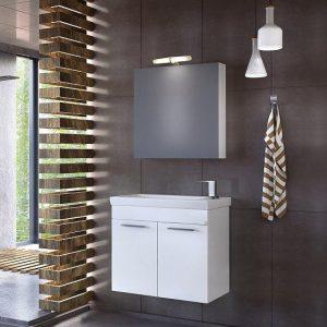 Έπιπλο μπάνιου Status 60 White Κρεμαστό