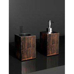 Σετ Αξεσουάρ Μπάνιου Quadra Ποτηροθήκη+Dispenser