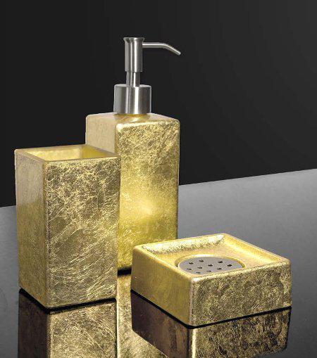 Σετ Αξεσουάρ Μπάνιου Luxury Glass Design