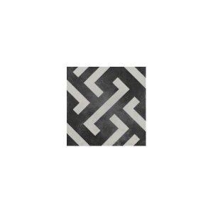 Signac Άσπρο Μαύρο Vintage Πλακάκι με Σχέδια