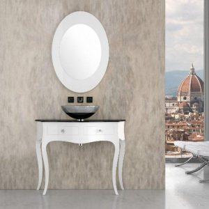 Καθρέφτης Μπάνιου Οβάλ Specchio Ovale 95*65cm