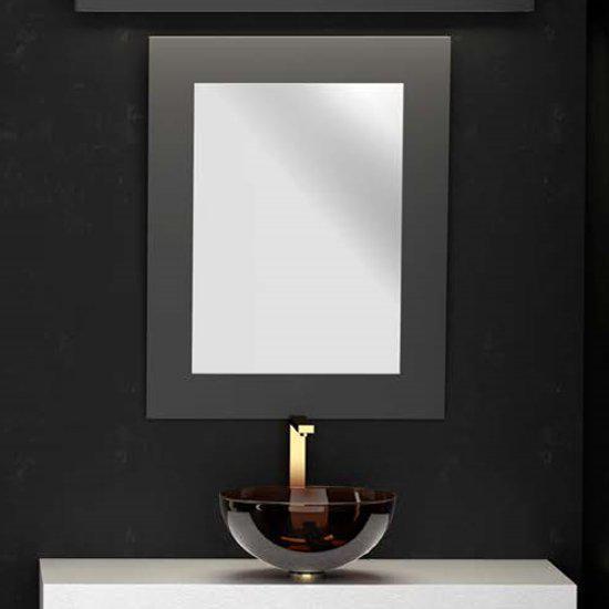 Καθρέφτης Μπάνιου Παραλληλόγραμμος Specchio Rettangolare 90*70cm