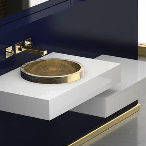 Wash Basin Semi Recessed TONDO FL