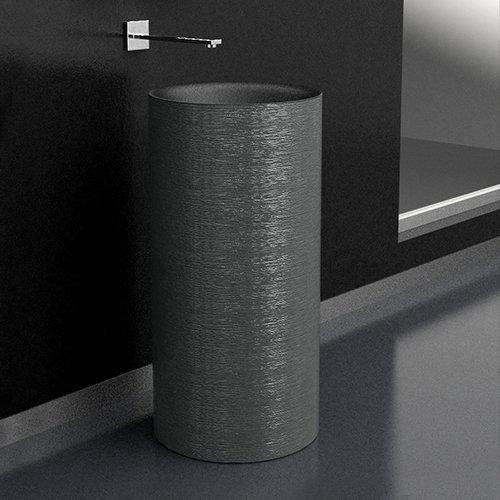 Silver Freestanding Washbasin TOMMY Metropole