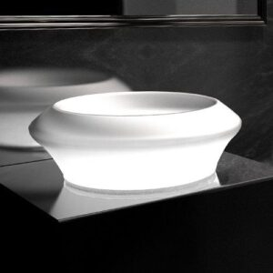 Νιπτήρας Μπάνιου Isola Small Glass Design