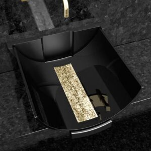Counter Top Washbasin Calla Black