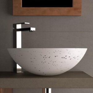 Counter Top Washbasin Circus 43 Travertino