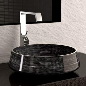 Counter Top Washbasin Exte Lux Black